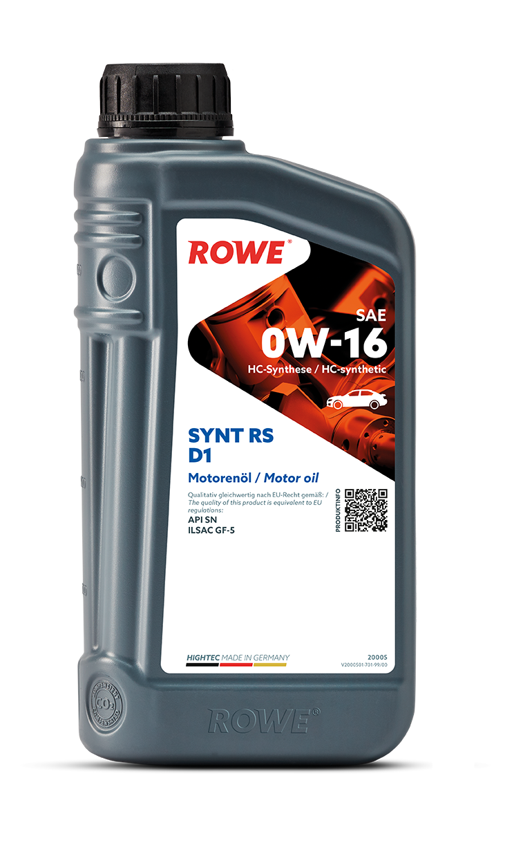 HIGHTEC SYNT RS D1 SAE 0W-16 (HYBRID)