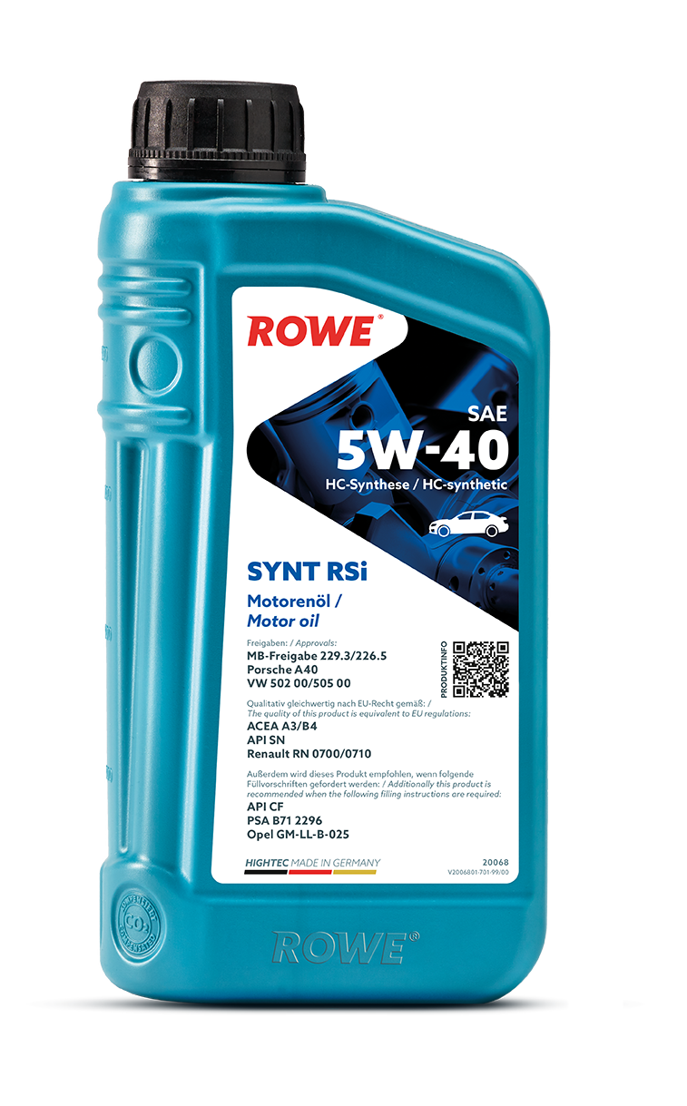 HIGHTEC SYNT RSi SAE 5W-40